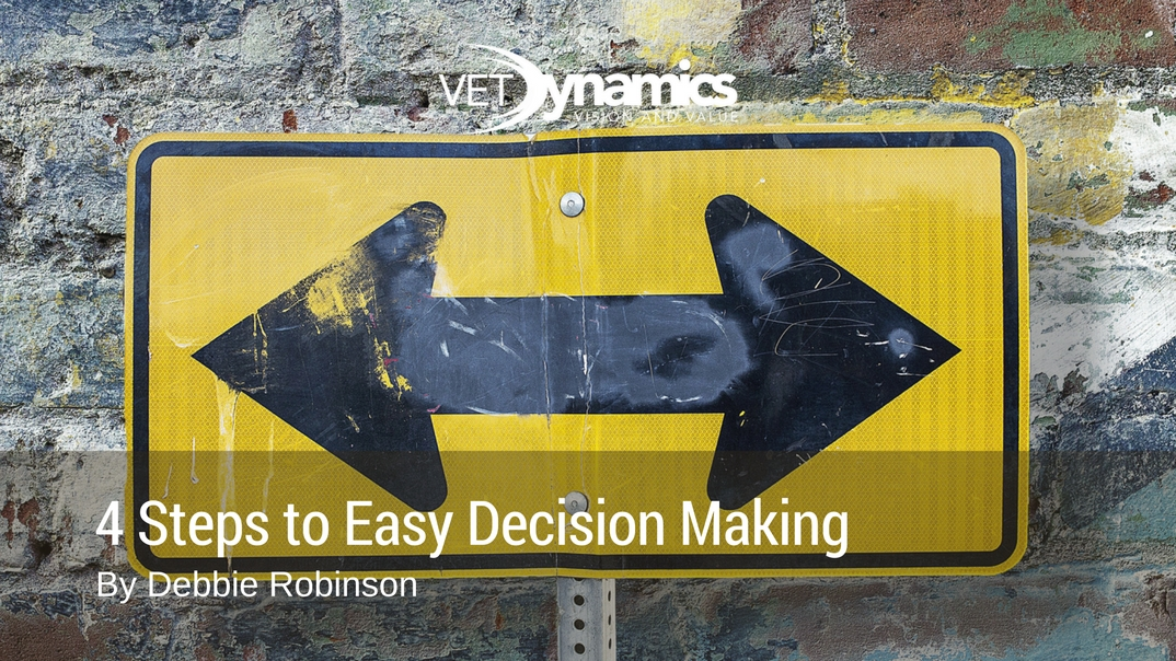 4 Steps to easy decision making